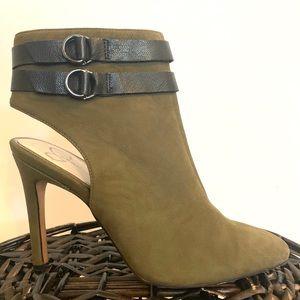 Women's Jessica Simpson dark green heels